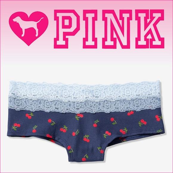 b4ec6c3e43 Size S M PINK VS VICTORIA S SECRET Cheekster Panty